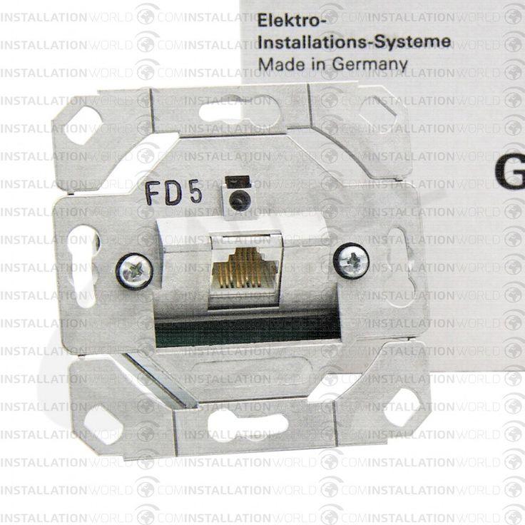 Gira 1xRJ45 számítógép csatlakozó Cat5 UTP