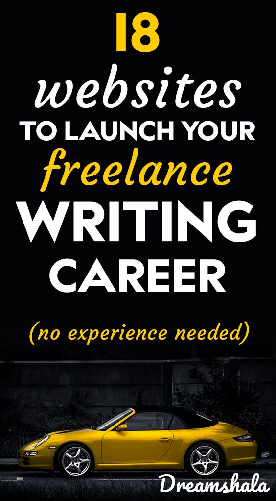 18 websites to launch your freelance writing career. No experience needed. – Siva | Dreamshala | Blogging, Social Media, Online Marketing Updates, WAH Jobs.