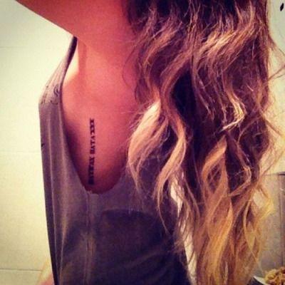 roman numeral tattoos   Tumblr