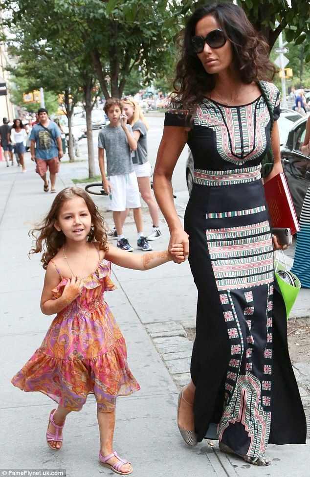 It's all in the genes: Top chef host Padma Lakshmi proved she handed down her sense of style to adorable four-year-old daughter Krishna as t...
