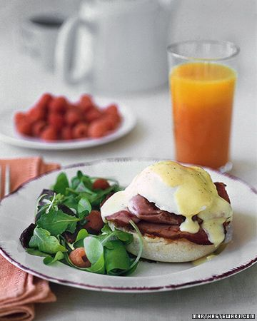 Eggs Benedict: Egg Benedict, Food, Brunch Recipes, Stewart Recipes, Eggs Benedict Recipes, Martha Stewart, Drinks, Poached Eggs Recipes, Breakfast Brunch