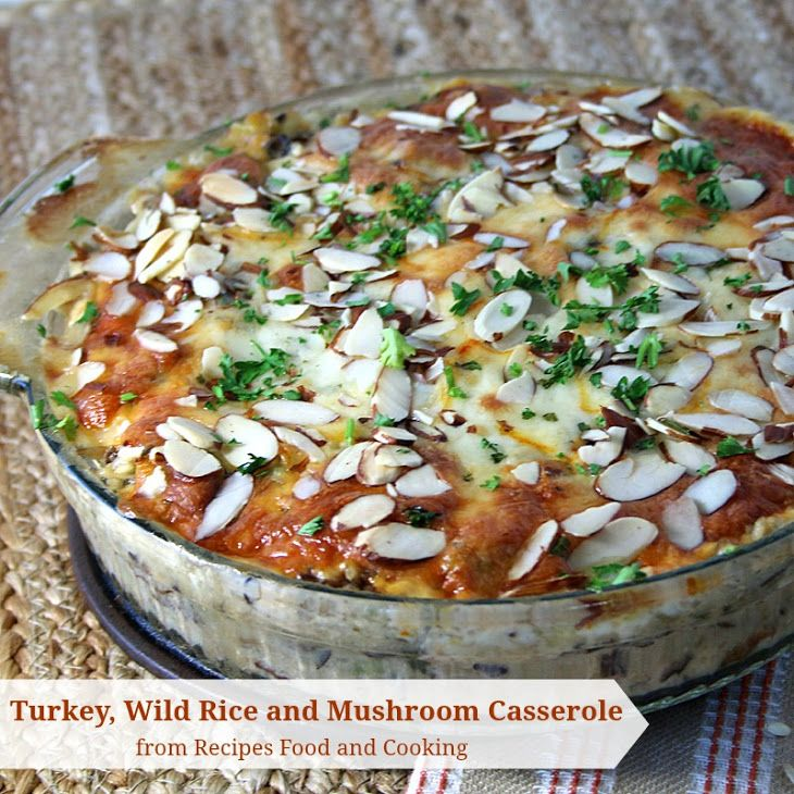 ... Wild Rice and Mushroom Casserole Recipe Main Dishes with wild rice