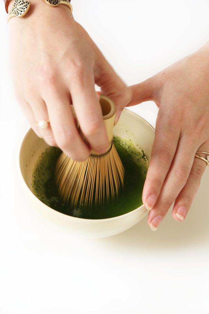 Three ways of making matcha (traditional Japanese green tea) from Popsugar