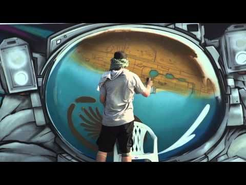 WATCH: Rehlhatna, Dubai. Guinness World Record: Longest Graffiti Scroll – video — Ironlak