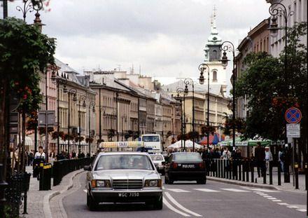 ULICA - Warszawa. Foto. Janusz A. Włodarczyk.