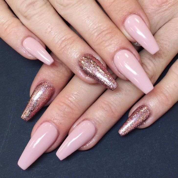 23 Ombre pink and white nail design ideas - French nails