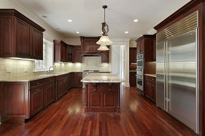 Cherry Red Kitchen Cabinets