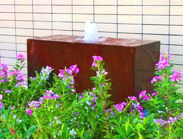 Outdoor Decor :: Water Features :: Rectangle Box Water Feature Garden Decor -