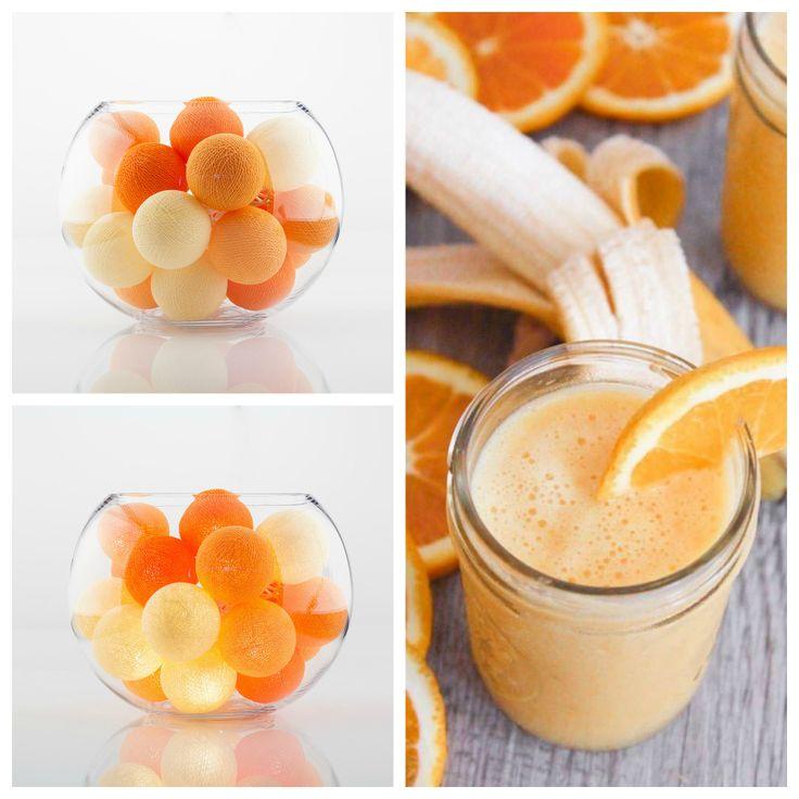 Тайские хлопковые фонарики «Orange Mood» 20 шт. Длина 3 м, диаметр шарика 6 см. Цена 390 грн.