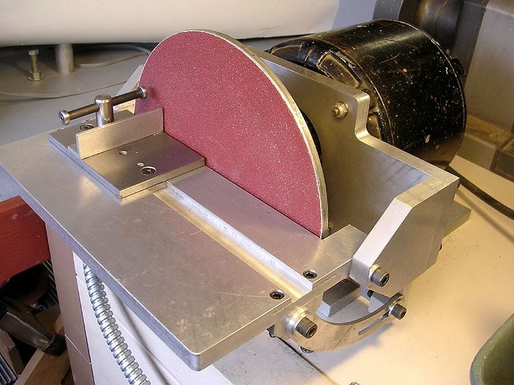 CNC Cookbook: Disc Sander, Part 3