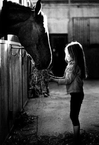 how many little girls so you know that would rather clean a stall than their room? i know im one of those girls!
