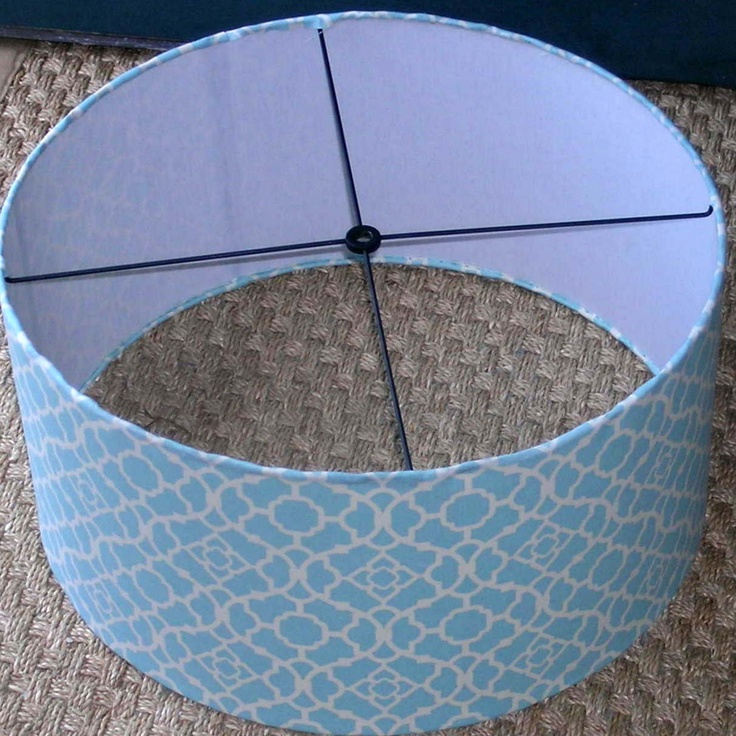 Drum Lamp Shade For Pendant Light / Hanging Light / Large Barrel Lampshade  20 Pictures