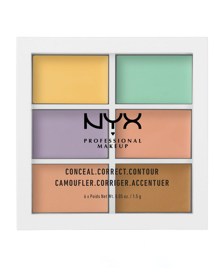 3C Palette Colour Correcting Concealer by NYX Professional Makeup  I've read great things about this colour correcting palette from NYX. Whether you want to reduce redness, hide blemishes or look more tanned in Winter this palette will help you! Easy to blend too. #affiliate