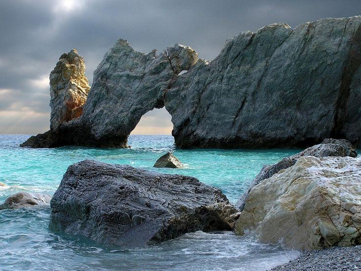 #Skiathos #amazing_place #rocks #sea #winter