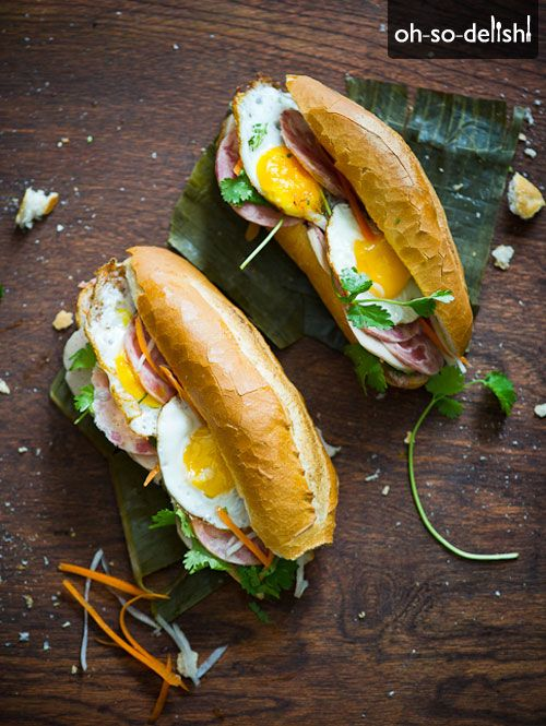 "The ""Bang Me"" Banh Mi - I would substitute some duck prosciutto for..."