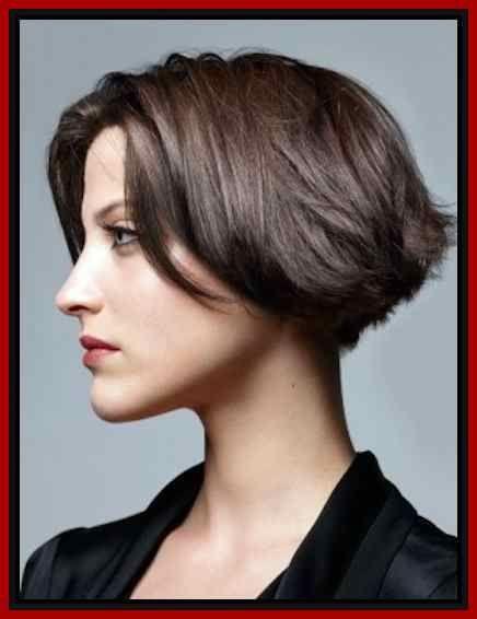 Schone kurze braune haare