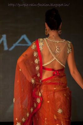 blouse #saree #indian wedding #fashion #style #bride #bridal party #brides maids #gorgeous #sexy #vibrant #elegant #blouse #choli #jewelry #bangles #lehenga #desi style #shaadi #designer #outfit #inspired #beautiful #must-have's #india #bollywood #south asain