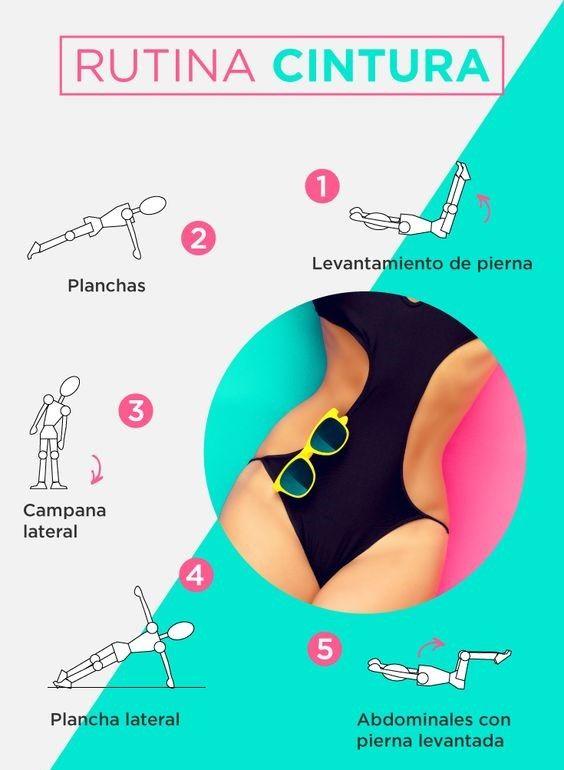¿Te gustaría lucir así? Checa estos fabulosos ejercicios y logra una cinturita de avispa: