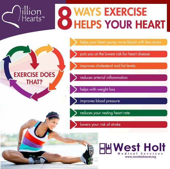 8 ways exercise helps your heart  american heart