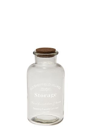 """Add a personal touch to a window sill or the mantle with this script glass bottle vase. Use as a single decorative item or collect a few to create interesting details around your home.<div class=""""pdpDescContent""""><BR /><b class=""""pdpDesc"""">Dimensions:</b><BR />L10xW10xH19.5 cm</div>"""
