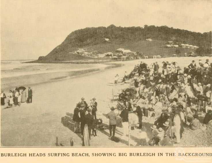 Burleigh Beach crew c1926