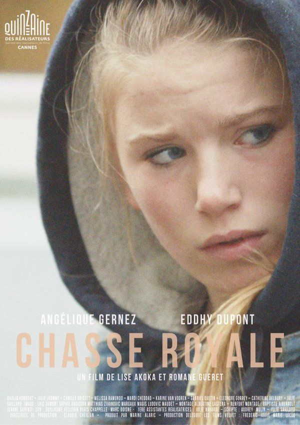 Chasse Royale by Lise Akoka and Romane Gueret. #Cannes2016 Quinzaine Short Films.  Poster,