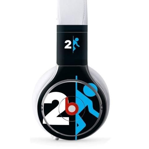 Portal 2 Beats Pro skin   Console skins world Monster Beats