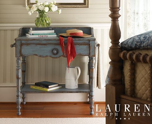 Bedrooms, Willowwood Road Sugarberry Bedside Table - Slate Blue, Bedrooms   Havertys Furniture