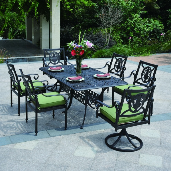 Obtain A Set Of Patio Furniture With Pieces That Carry The Charm Of Old  French Chairs