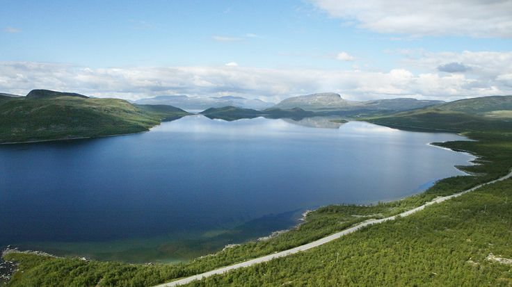 Kilpisjarvi, Finland, There is a popular tourist attraction at Kilpisjarvi where the borders of Finland, Sweden, and Norway meet. This is Lake Kilpisjarvi