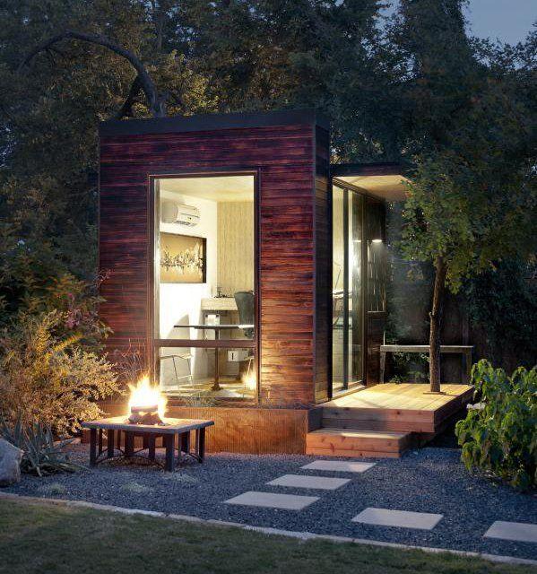 9 best images about garden office pods on pinterest for Best garden studios