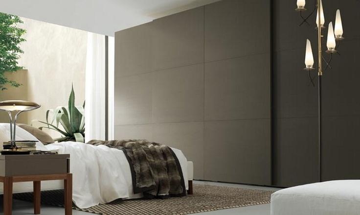 Seamless and minimal matte lacquer wardrobe