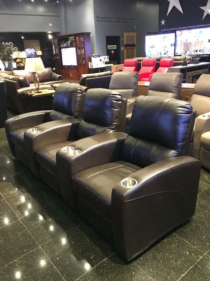Gallery Furniture Is Proud To Feature A Variety Of Styles And Home Theater  Seating Designs,
