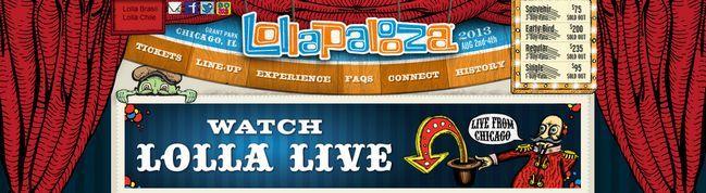 Ya puede ver el streaming en vivo del famoso festival de música Lollapalooza!