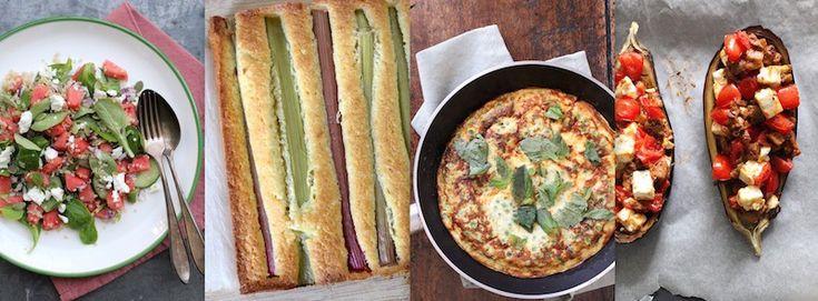 Recept inspiratie voor elke dag. LUNCH Artisjokken-pasta salade Witloftaartje Zomerse couscous salade Groene bonen salade Snijbonen tofu salade Herfst salade met paddenstoelen Tortilla met Aduki bo…