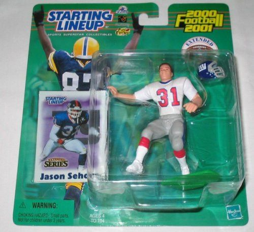2000 Jason Sehorn Extended Series NFL Starting Lineup