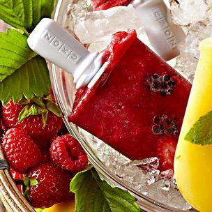 Triple-Berry Ice Pops | Williams-Sonoma