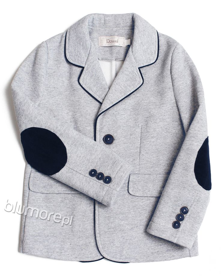 Jeżeli Twój syn nie lubi garniturów warto pomyśleć o zakupie samej marynarki. Model Igor ma młodzieżowy krój oraz oryginalne dodatki, np. lamówka, łaty. Kup już teraz i skomponuj casualową stylizację! | Cena: 136,00 zł | Link do sklepu: http://tiny.pl/gx1mm