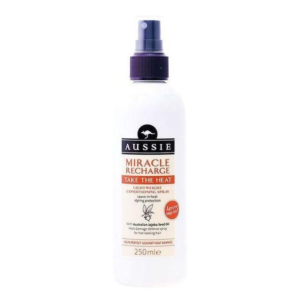 Conditioner Spray Miracle Recharge Take The Heat Aussie