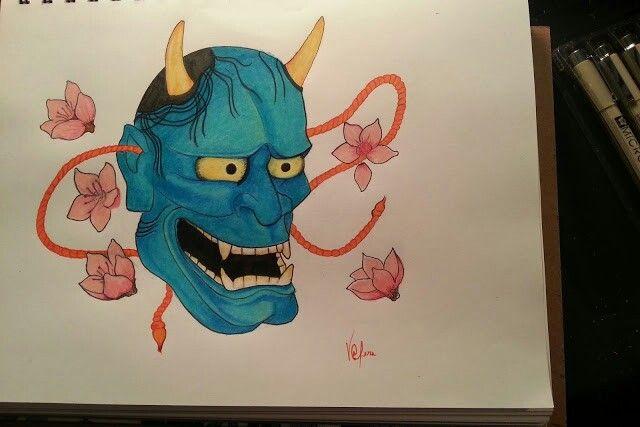 My first Oni Mask