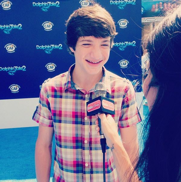 "Jake Short Visited With Radio Disney At The ""Dolphin Tale 2″ Premiere September 7, 2014"