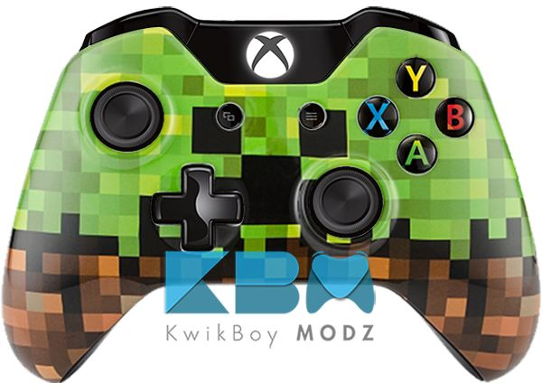 Minecraft Xbox One Controller http://johndembowski.com