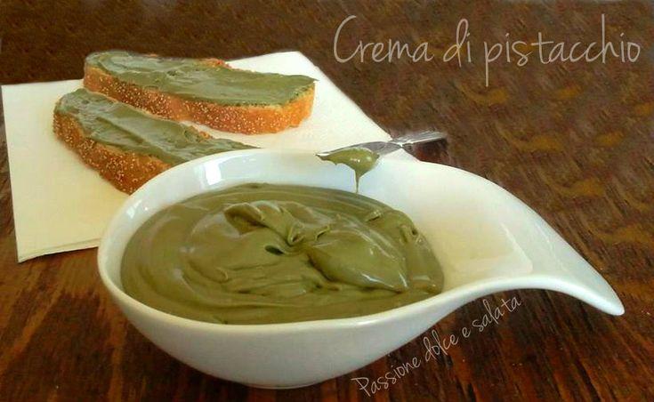 Crema di pistacchio - ricetta facile