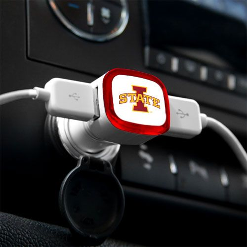 Iowa State Cyclones USB Car Charger