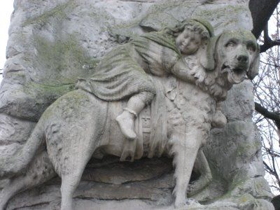 Le Cimetière des Chiens (El Cementerio de los Perros), París. Barry.