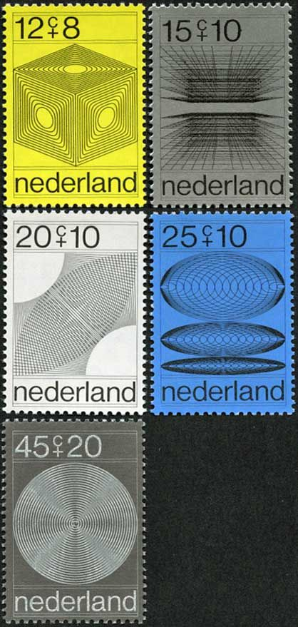 Stamp Netherlands 1970
