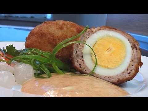 Яйца по-шотландски видео рецепт - YouTube