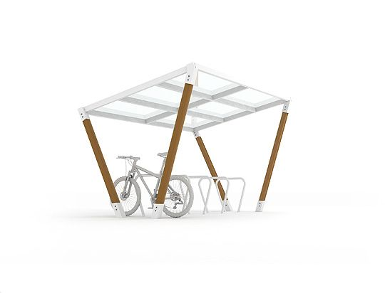 EDGE cycle shelters
