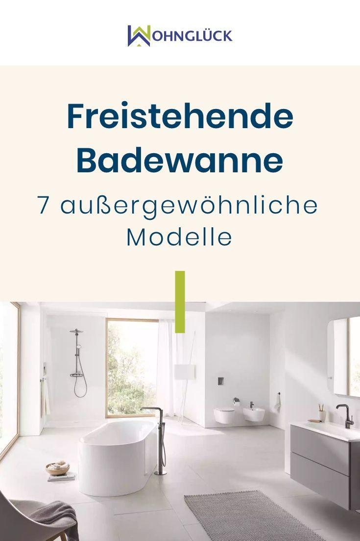 Freistehende Badewanne 7 Echte Hingucker Im Bad In 2020 Freistehende Badewanne Badewanne Grosse Badezimmer