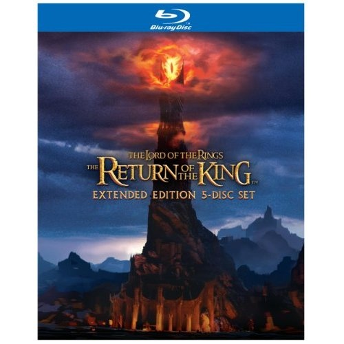 Amazon.com: The Lord of the Rings: The Return of the King (Extended Edition 5-Disc Set) [Blu-ray]: Elijah Wood, Ian McKellen, Liv Tyler, Viggo Mortensen, Sean Astin, Cate Blanchett, John Rhys-Davies, Bernard Hill, Billy Boyd, Dominic Monaghan, Orlando Bloom, Hugo Weaving, Miranda Otto, David Wenham, Karl Urban, John Noble, Ian Holm, Sean Bean, Andy Serkis, Peter Jackson: Movies & TV